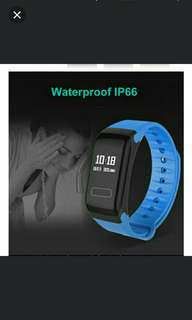 🚚 🆒🆕 Smart Wristband Heart Rate Blood Pressure Oxygen Sleep Fatigue Monitor - Only BLUE strap instock