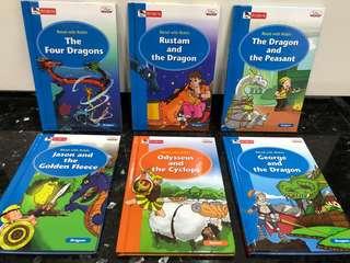 Robin Brand Children Kids Story Books Magic Fantasy Dragon Cyclops Toys English Play