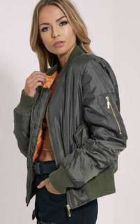 Pretty little thing bomber jacket