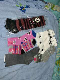 襪 襪套 $6對 $40/8對