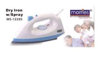 BNIB Morries dry iron with spray