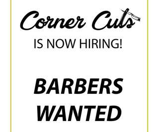 Barbers Wanted for Immediate Hiring