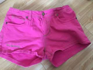Beverly Hills Polo Pink Shorts