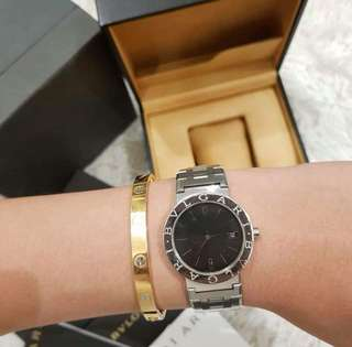 100% Original/Authentic Bvlgari BB 33 SA Junior Size