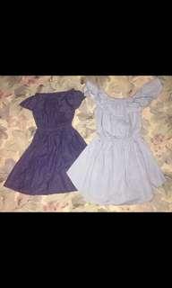Soft denim dress take all