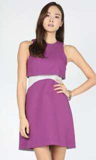 BWNT Love Bonito Delbin Contrast Dress