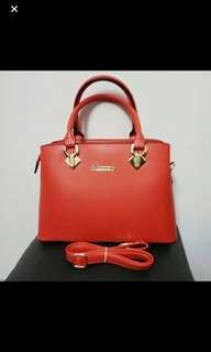 Ladies bag 時尚女裝手袋 (Red colour)
