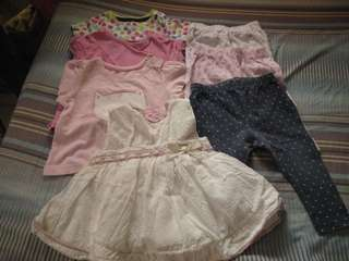 Preloved baby clothes (new born to 3months)