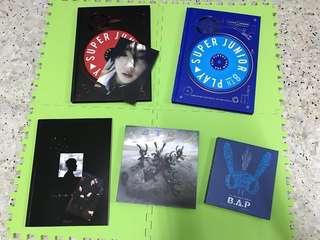 [Clearance] Super Junior / B.A.P / GOT7 / JJ Project / Monsta X / NCT / BTOB Official Albums