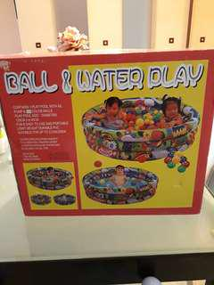 Ball and water play