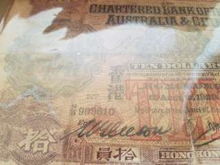 印度舊金山 古董紙幣以前在拍賣行拍回來  代朋友出售
