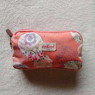 Cath Kidston Peachy Orange Travel Kikay Zippered Pouch