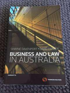 Business and Law in Australia (2012)