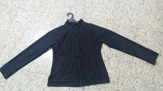 black stretchable jacket