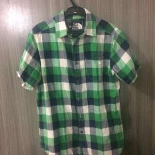 Blue & Green Plaid Polo
