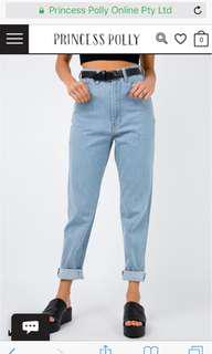 High waisted Boyfriend jeans (price inc postage)