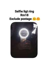 Selfie light ring