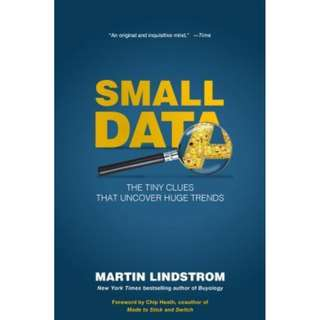 [eBook] Small Data: The Tiny Clues that Uncover Huge Trends by Martin Lindstrom