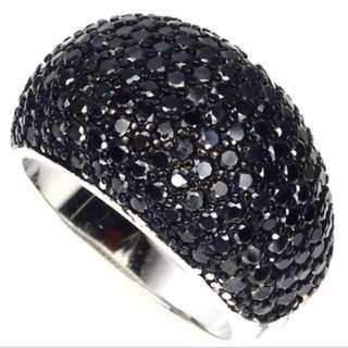 Black Sapphire Jewellery Ring 黑色藍寶石戒指