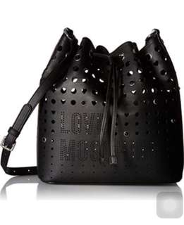 LOVE MOSCHINO Perforated Bucket Bag