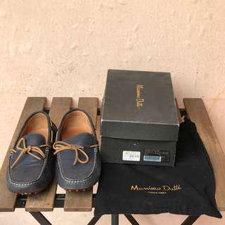 MOSSIMO DUTTI Loafer Men Shoes Blue