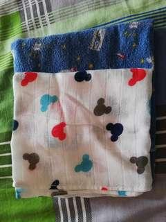 Baby Blanket bedung dan napkin