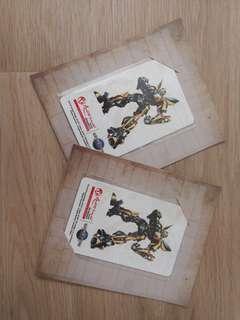 Transformer Ez Link Card