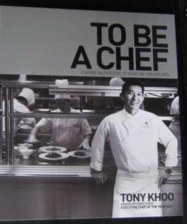 chef recipe book (tony khoo)
