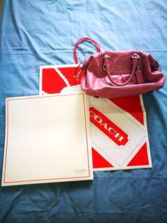 AUTHENTIC COACH PINK Bag (Reduced)