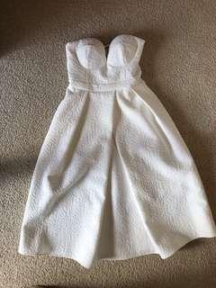 Sheike Sweet Nothing Ivory midi dress size 6
