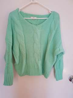 Green Ava Knit S/M jumper