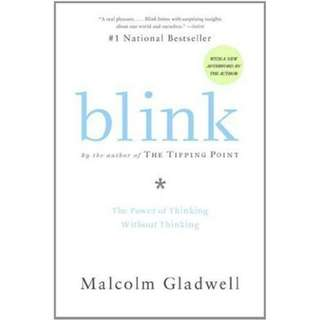 [eBook] Blink: The Power of Thinking Without Thinking by Malcolm Gladwell