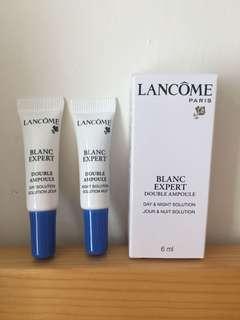 Lancôme blanc expert day & night solution 3mlx2