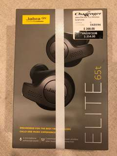 Jabra Elite 65t True Wireless Earphones
