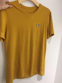 Vans-芥末黃Tshirt
