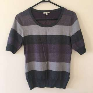 Laura Ashley knit top (size XS)
