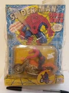 香港製造懷舊玩具(罕有)蜘蛛俠電單車,自行出價,合價即覆