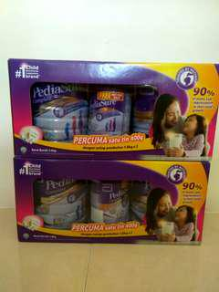 Pediasure 3.6kg Vanilla Flavor new and sealed 2 boxes available