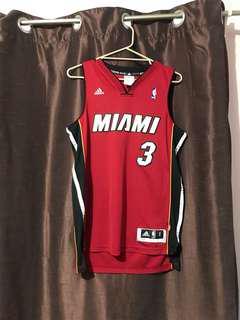 Miami basketball jersey small