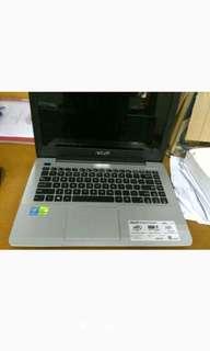Asus A455L Ram 4 Giga Core i3