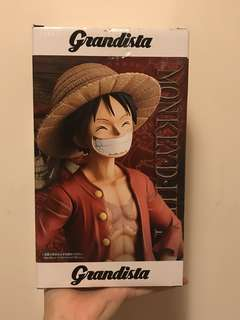 「現貨」27cm高 海賊王 航海王 路飛 OnePiece figure 手辦 The Grandista Men Monkey D Luffy