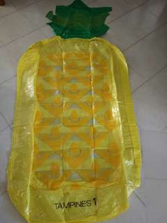 Inflatable Pineaapple Floats 130x80cm(Yellow base)