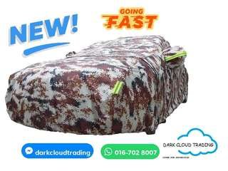 [DARK CLOUD - OXFORD CAMOUFLAGE] 💥 EXTRA STRONG OXFORD CAR COVER / VEHICLE PROTECTOR ▶️HIGH QUALITY ✔️BELT LOCK ▶️ZIP ✔️RETRO-REFLECTIVE ▶️BAG ✔️EXTRA STRONG ▶️WATERPROOF  ✔️UV ▶️ANTI-DUST ✔️ANTI-SCRATCH ▶️THERMAL INSULATION