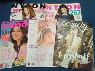 Nylon Mags, Candy Mags