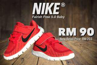 NIKE ® Free 5.0 Infant/Toddler Shoes