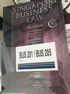 BN Sealed - Singapore Business Law 7th Edition