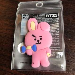 BT21 Character Magnet