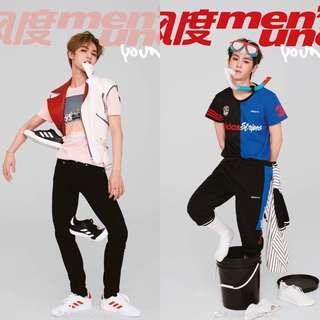 Justin / 朱正廷 风度men's uno Poster Plus