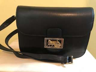 Vintage Celine crossbody bag 馬車扣 手袋 包包
