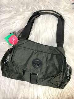 Kipling Grey Shoulder Bag with Sling Straps 😱